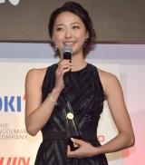 『第46回 ベストドレッサー賞』のスポーツ部門を受賞した畠山愛理 (C)ORICON NewS inc.