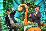 17日放送のTBS系『毒出しバラエティ 山里&マツコ・デトックス』に出演する安東弘樹アナウンサーと山里亮太(C)TBS