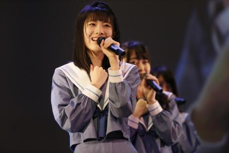 グループを卒業する張織慧=STU48瀬戸内7県周遊握手会イベント『せとうちめぐり』より
