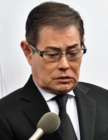 大杉漣さんお別れ会「さらば!ゴンタクレ」に参列した加藤茶 (C)ORICON NewS inc.