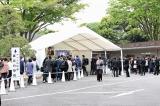 大杉漣さんお別れ会「さらば!ゴンタクレ」に参列したファンの人々 (C)ORICON NewS inc.