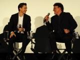 映画『アベンジャーズ/インフィニティ・ウォー』(4月27日公開)ファンミーティングに登壇したトム・ホランドとアンソニー・ルッソ監督 (C)ORICON NewS inc.
