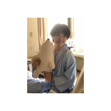 矢方美紀(入院時の写真)