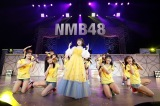 地元埼玉で卒業コンサートを開催したNMB48の市川美織(C)NMB48