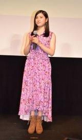 映画『となりの怪物くん』(27日公開)の『最強怪物決定イベント』に参加した土屋太鳳 (C)ORICON NewS inc.