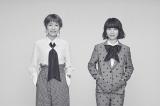 7月で解散するチャットモンチー(左から福岡晃子、橋本絵莉子)