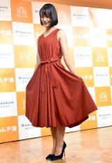 真っ赤なドレス姿を披露した藤田菜七子(C)ORICON NewS inc.