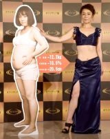 12.2キロ減量で美脚も披露した佐藤仁美 (C)ORICON NewS inc.