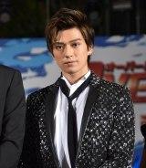 映画『OVER DRIVE』(6月1日公開)のスペシャルステージに出席した新田真剣佑 (C)ORICON NewS inc.