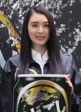 キリンの体験イベントに出席した女優の栗山千明 (C)oricon ME inc.