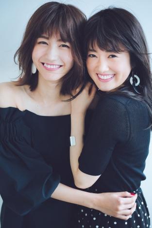 サムネイル 『JJ』専属モデルに抜てきされた欅坂46土生瑞穂(左)と乃木坂46樋口日奈