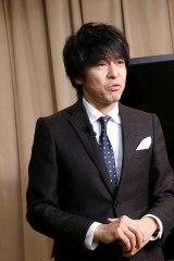 新2.5D アンバサダー就任式に出席した、日本2.5次元ミュージカル協会理事・松田誠(C)Deview