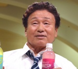 ビタミン炭酸飲料『マッチ』新CM発表会に出席した天龍源一郎 (C)ORICON NewS inc.