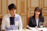 TBS系連続ドラマ『ブラックペアン』とミシュランガイドがコラボ 写真は(左から)竹内涼真、加藤綾子 (C)TBS