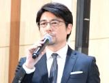 映画『ラプラスの魔女』公開直前イベントで司会を務めた安東弘樹アナ (C)ORICON NewS inc.