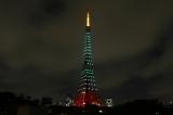 SHINeeカラーに輝く東京タワー