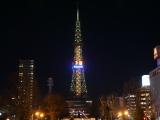 SHINeeカラーに輝くさっぽろテレビ塔