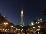 SHINeeカラーに輝く名古屋テレビ塔