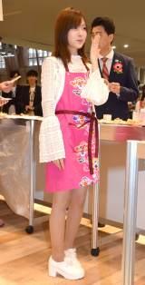 『よしもと沖縄シュフラン2018試食選考会』に参加した須藤凛々花 (C)ORICON NewS inc.
