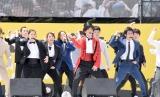 『沖縄ラフ&ピース専門学校×グレイテスト・ショーマン 第1期生入学記念 グレイテスト・ラフピー・ショー』(C)ORICON NewS inc.
