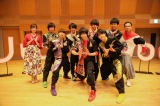 NHK名古屋放送局制作の音楽番組『Uta-Tube』(4月21日放送)に祭nine.が登場(C)NHK