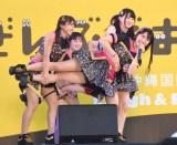 『島ぜんぶでおーきな祭 第10回 沖縄国際映画祭』内のイベントでライブを行ったNMB48 (C)ORICON NewS inc.