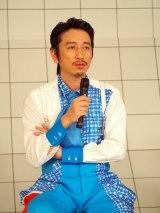 NHK・Eテレ『オドモTV』「オドモのがたり」のコーナーに出演する岩井秀人 (C)ORICON NewS inc.