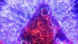 アニメーション映画『GODZILLA 決戦機動増殖都市』(5月18日公開)燃える!<ゴジラ・アース>(C)2018 TOHO CO., LTD.