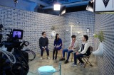 4月21日放送、NHK・BSプレミアム『トイレの話 大なり小なり』収録風景(C)NHK