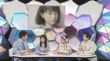 スタジオのMC小島瑠璃子もSayaに興味津々(C)NHK
