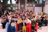 葵わかなが久しぶりに『わろてんか』を撮影していたNHK大阪放送局でイベントに参加(C)NHK