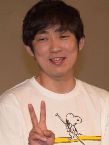 『耳を腐らせるほどの愛』舞台あいさつに登壇したNON STYLE・石田明 (C)ORICON NewS inc.