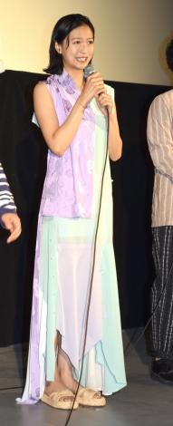 映画『家に帰ると妻が必ず死んだふりをしています』舞台あいさつに出席した榮倉奈々 (C)ORICON NewS inc.