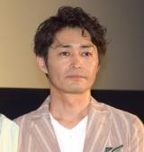 映画『家に帰ると妻が必ず死んだふりをしています』舞台あいさつに出席した安田顕 (C)ORICON NewS inc.