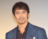 映画『のみとり侍』の完成披露舞台あいさつに登壇した阿部寛 (C)ORICON NewS inc.