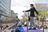 仙台市内で行われた羽生結弦選手『2連覇おめでとう』パレードより