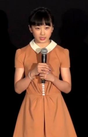 本田望結=アニメ映画『リズと青い鳥』の初日舞台あいさつ (C)ORICON NewS inc.