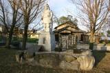 戦国時代に明智光秀が築城した坂本城の跡(滋賀県大津市)