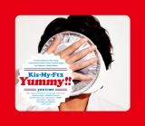 Kis-My-Ft2の7枚目のオリジナルアルバム『Yummy!!』(写真は初回盤B)