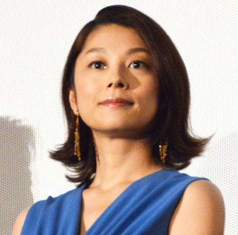 映画『空飛ぶタイヤ』舞台あいさつに登壇した小池栄子 (C)ORICON NewS inc.