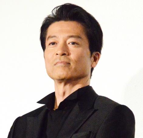映画『空飛ぶタイヤ』舞台あいさつに登壇した寺脇康文 (C)ORICON NewS inc.