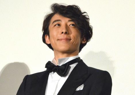 映画『空飛ぶタイヤ』舞台あいさつに登壇した高橋一生 (C)ORICON NewS inc.