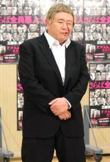映画『アウトレイジ 最終章』Blu-ray&DVD発売記念モノマネ特別版CM公開アフレコに出席した松村邦洋(C)ORICON NewS inc.