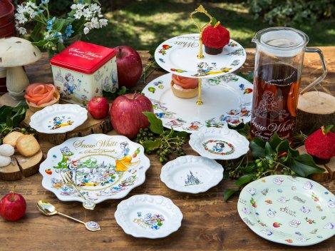 サムネイル Afternoon Teaがプロデュース! ディズニー映画『白雪姫』をテーマにしたテーブルウェア (C)Disney