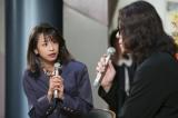 連続テレビ小説『半分、青い。』第4週(4月23日〜27日)にフリーアナウンサーの加藤綾子が出演(C)NHK