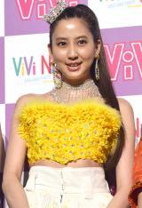 『ViVi Night in TOKYO 2018 KIRA KIRA PARTY SPRING』前の囲み取材に出席した河北麻友子 (C)ORICON NewS inc.