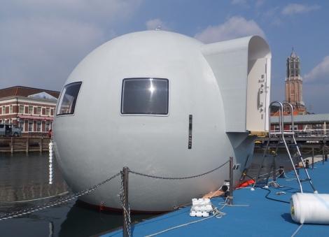 サムネイル 世界初!ハウステンボスの『移動式球体型水上ホテル』