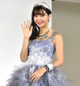 マリアローザ『b.b. duo』デビューコレクションで自身がデザイン監修したウエディングドレス姿を披露した藤田ニコル (C)ORICON NewS inc.