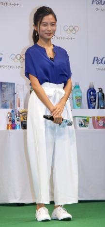 P&G「ママの公式スポンサー」東京2020オリンピック観戦チケットキャンペーン発表会に出席した小島瑠璃子 (C)ORICON NewS inc.