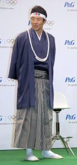 P&G「ママの公式スポンサー」東京2020オリンピック観戦チケットキャンペーン発表会に出席した松岡修造 (C)ORICON NewS inc.